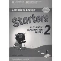Książki do nauki języka, Cambridge English Starters 2 Answer booklet (opr. miękka)