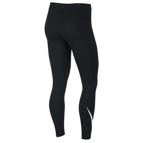 Legginsy, Legginsy damskie Nike Legasee Swoosh czarne CJ2655 013