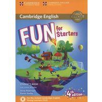 Książki do nauki języka, Fun for Starters Student's Book + Online Activities (opr. miękka)