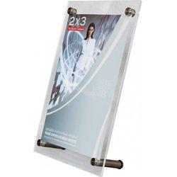 Tabliczka informacyjna stojąca EuroPLEX Portable 2x3 357x250mm