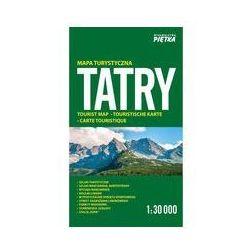 Tatry mapa turystyczna 1:30 000 - Wydawnictwo Kartograficzne OD 24,99zł DARMOWA DOSTAWA KIOSK RUCHU