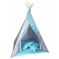 Indiański namiot z 3 poduszkami i matą - Wikos