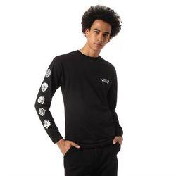 koszulka VANS - Mn Rowan Zorilla Faces Ls Black (BLK) rozmiar: M