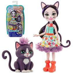 ENCHANTIMALS Lalka Ciesta cat & Climber