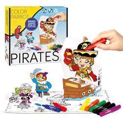 Zestaw artystyczny STARPAK 301150 3D z pisakami Piraci