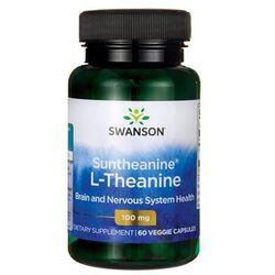 Suntheanine L-Theanine100mg 60 kapsułek SWANSON