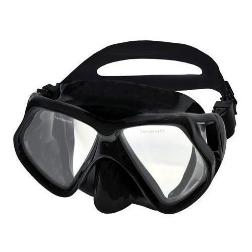 Maski, płetwy i fajki, Maska do nurkowania SPOKEY Gorun 831743 Czarny