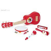 Instrumenty dla dzieci, Janod Zestaw instrumentów duży Confetti
