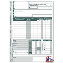 Faktura VAT Michalczyk&Prokop 124-3E - A5, uproszczona brutto (oryginał+kopia)