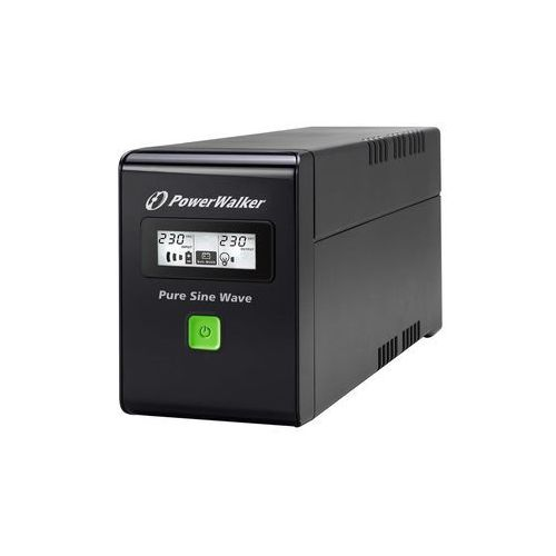 UPSy, Ups Power Walker Line-interactive 800va 2x Pl 230v, Pure Sine Wave, Rj11/45 In/out, Usb, Lcd