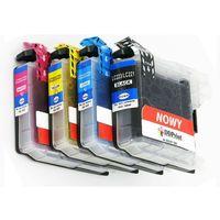 Tusze do drukarek, Zestaw LC223 / 4 kolory / do Brother DCP-J4120DW MFC-J4420DW / Nowy zamiennik / 26ml - 17ml