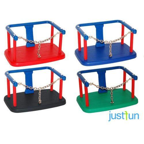 Huśtawki ogrodowe dla dzieci, Huśtawka kubełkowa z łańcuszkiem + komplet łańcuchów ze stali nierdzewnej 5mm - 1,8m