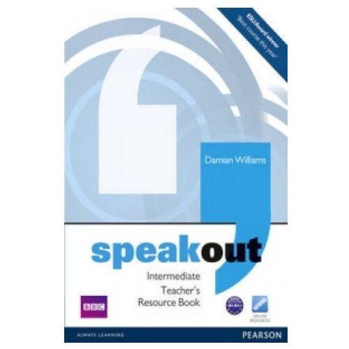 Książki do nauki języka, Speakout Intermediate, Teacher's Book (książka nauczyciela) (opr. miękka)