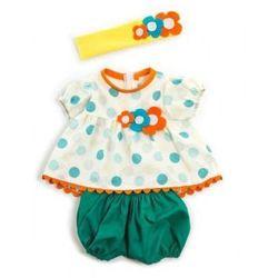 Ubranko dla lalki 40 cm letnie ubranko i opaska
