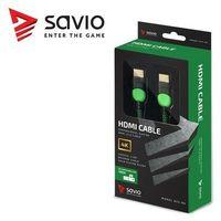 Akcesoria Xbox One, Kabel HDMI - HDMI SAVIO 3.0 m
