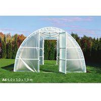 Szklarnie, Tunel foliowy A6 6x3x1,9m UV4 z wgrzanymi sznurkami