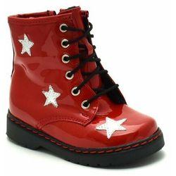 Dziecięce buty zimowe Kornecki 06216 Czerwone