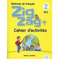Książki do nauki języka, Zig Zag+ 2 A1.2 Podręcznik + CD - Helene Vanthier (opr. miękka)