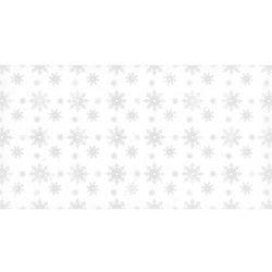 Dekoracyjny papier 17x32 cm śnieg 2 - biały - biały