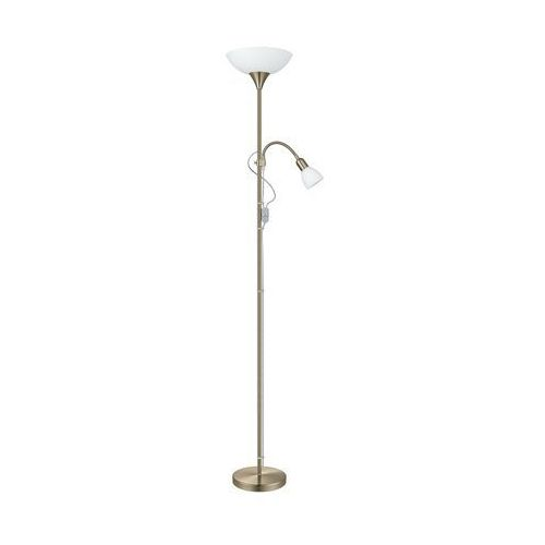 Lampy stojące, EGLO 82844 - Lampa podłogowa UP 2 1xE27/100W brąz