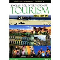 Książki do nauki języka, English for international tourism upper intermediate Coursebook + DVD (opr. miękka)