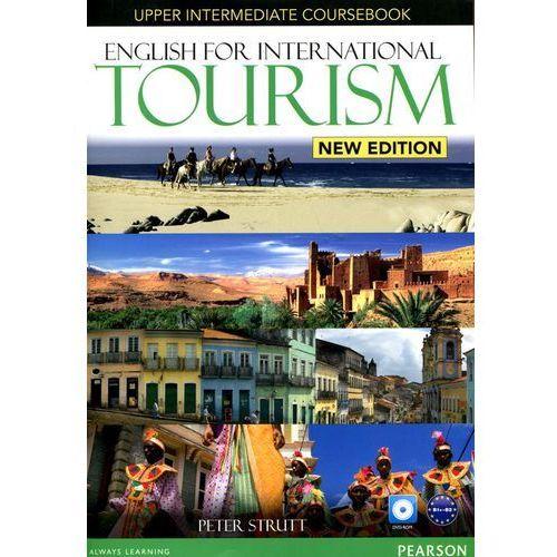 Książki do nauki języka, English for international tourism upper intermediate Coursebook + DVD (opr. miękka)