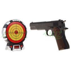 Pistolet Laserowy (amerykański Colt 1911A1) + Elektroniczna Tarcza Strzelnicza.