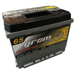 Akumulator GROM Premium 65Ah 650A EN P+ wysoki