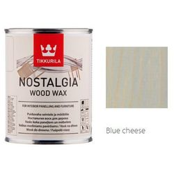 TIKKURILA NOSTALGIA WOOD WAX- wosk do drewna, blue cheese, 0.9 l