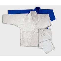 Jiu Jitsu Gi Niebieskie Podwójna Plecionka 17oz - Kimono do Jiu-jitsu (GTTA952_140)