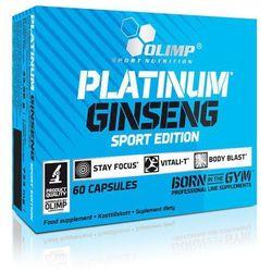 PLATINUM GINSENG™ SPORT EDITION 550 mg Najlepszy produkt tylko u nas!