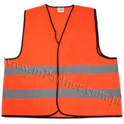 Kamizelka odblaskowa ostrzegawcza XL pomarańczowa