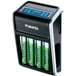 VARTA LCD Plug Charger + 4 akumulatory AA 2100 mAh - produkt w magazynie - szybka wysyłka!