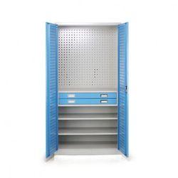 Szafa warsztatowa z szufladami, 1850x900x500 mm