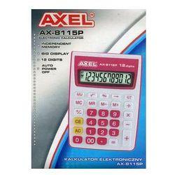 Kalkulator na biurko Axel AX-8115P (393788). Darmowy odbiór w niemal 100 księgarniach!