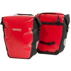 O-F500101 Sakwy tylne Ortlieb Back-Roller City czerwone 40l logo Bikeman