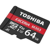 Karty pamięci, Toshiba microSD 64GB M303 UHSI U3 adapter