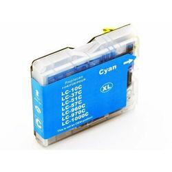Tusz niebieski LC1000C / LC970C do Brother DCP 135c / DCP 150c / 357c / Nowy zamiennik / 20ml