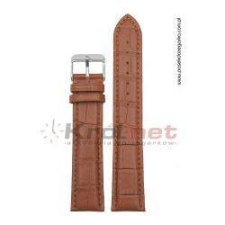 Pasek Alfa PA038JBR/22 - brązowy, super long (XXL)