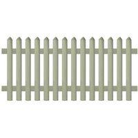 Przęsła i elementy ogrodzenia, vidaXL Panel ogrodzeniowy, impregnowana sosna, 170 x 80 cm, 5/7 cm Darmowa wysyłka i zwroty