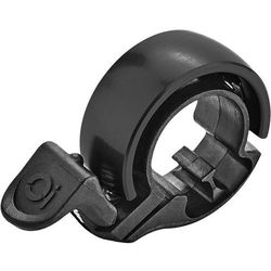 Knog Oi Classic Dzwonek rowerowy, black/matte black Small (22,2mm) 2019 Dzwonki Przy złożeniu zamówienia do godziny 16 ( od Pon. do Pt., wszystkie metody płatności z wyjątkiem przelewu bankowego), wysyłka odbędzie się tego samego dnia.