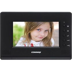 """Monitor 7"""" głośnomówiący Commax CDV-70AR3(DC) BLACK"""