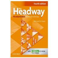 Książki do nauki języka, Headway 4E NEW Pre-Inter. WB/key OXFORD - John Soars, Liz Soars (opr. broszurowa)