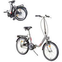 """Pozostałe rowery, Składany rower DHS Folder 2092 20"""" - model 2019, Szary"""