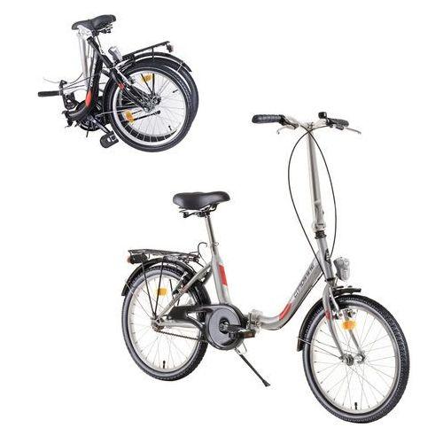 """Pozostałe rowery, Składany rower DHS Folder 2092 20"""" - model 2019, Czarny"""