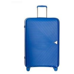 PUCCINI walizka średnia twarda z kolekcji DENVER PP014 4 koła zamek szyfrowy TSA materiał polipropylen