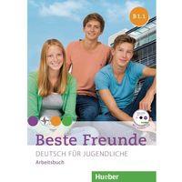Książki do nauki języka, Beste Freunde B1.1 AB+ CD wersja niemiecka HUEBER - Praca zbiorowa (opr. broszurowa)