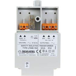 Transformator 230V/20V AC do obudowy OPU-3 P, 60VA - TR60VA