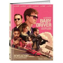 Baby Driver (Książka + DVD) - Edgar Wright. DARMOWA DOSTAWA DO KIOSKU RUCHU OD 24,99ZŁ
