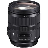Konwertery fotograficzne, Sigma 24-70 F2.8 OS DG HSM (Canon)